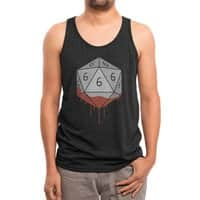 Dicing with The Devil - mens-triblend-tank - small view