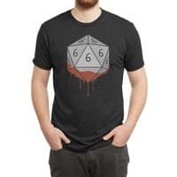 Dicing with The Devil - mens-triblend-tee - small view