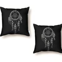 Bad-Dreamcatcher - throw-pillow - small view