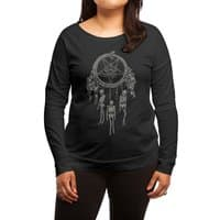Bad-Dreamcatcher - womens-long-sleeve-terry-scoop - small view