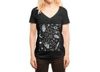 Witchcraft - womens-deep-v-neck - small view