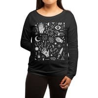 Witchcraft - womens-long-sleeve-terry-scoop - small view