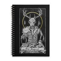The Magician - spiral-notebook - small view