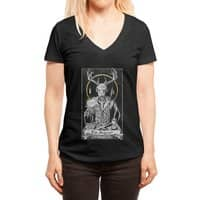 The Magician - womens-deep-v-neck - small view