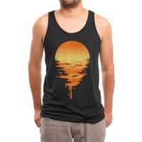 Sunset 6 - mens-triblend-tank - small view