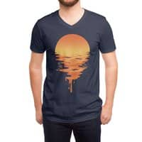 Sunset 6 - vneck - small view
