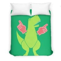Yay! Big Hands! - duvet-cover - small view