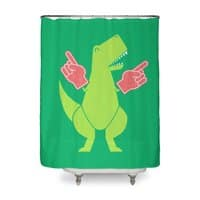 Yay! Big Hands! - shower-curtain - small view