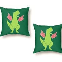Yay! Big Hands! - throw-pillow - small view
