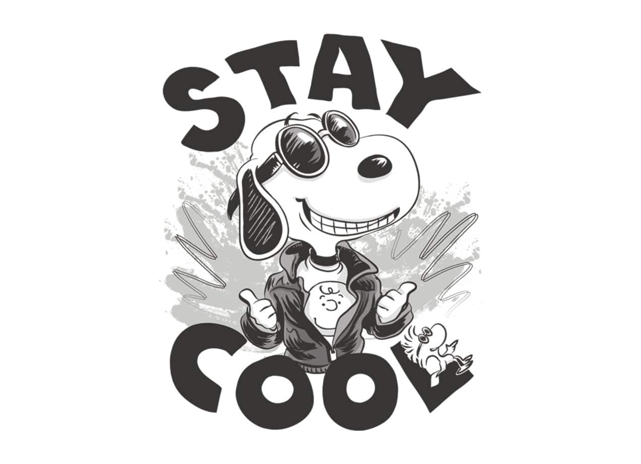 Stay Cool Like Snoopy by Mudge | Threadless