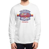 Television Marathon Champion - mens-long-sleeve-tee - small view