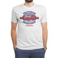 Television Marathon Champion - mens-triblend-tee - small view