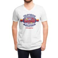 Television Marathon Champion - vneck - small view