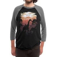 From Jungle to City - triblend-34-sleeve-raglan-tee - small view