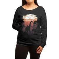 From Jungle to City - womens-long-sleeve-terry-scoop - small view