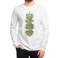 Nature conquers all. - mens-long-sleeve-tee - small view