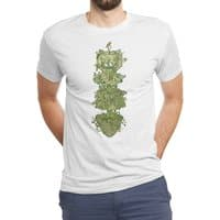 Nature conquers all. - mens-triblend-tee - small view