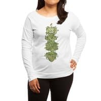 Nature conquers all. - womens-long-sleeve-terry-scoop - small view