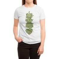 Nature conquers all. - womens-triblend-tee - small view