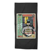 and Ramen - beach-towel - small view