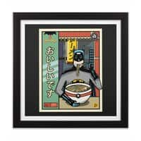 and Ramen - black-square-framed-print - small view