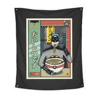and Ramen - indoor-wall-tapestry-vertical - small view