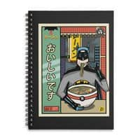 and Ramen - spiral-notebook - small view