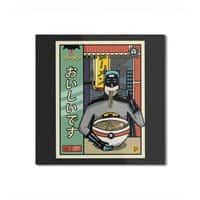 and Ramen - square-mounted-aluminum-print - small view