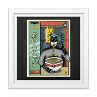 and Ramen - white-square-framed-print - small view