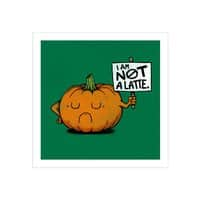 A Pumpkin Protest - small view