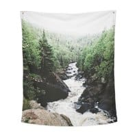 Lutsen, MN - indoor-wall-tapestry-vertical - small view