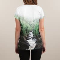 Lutsen, MN - womens-sublimated-v-neck - small view
