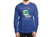 My Memory Is Terrible - mens-long-sleeve-tee - small view