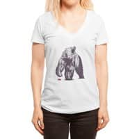 Bear Block - womens-deep-v-neck - small view