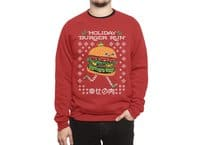 Holiday Burger Run - crew-sweatshirt - small view