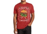 Holiday Burger Run - mens-extra-soft-tee - small view
