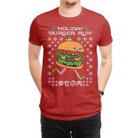 Holiday Burger Run - mens-regular-tee - small view
