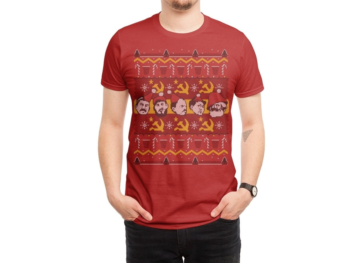 4c64ab7a ... The Communist Party: Holiday Edition - mens-regular-tee - small view ...
