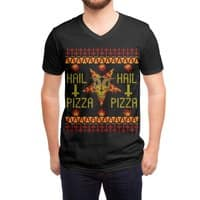 HAIL PIZZA - vneck - small view