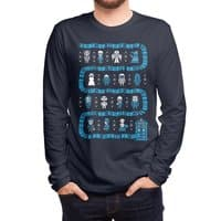Who's Outside? - mens-long-sleeve-tee - small view