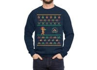 We Wish You A Metroid Christmas - crew-sweatshirt - small view