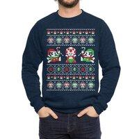 Super Christmas Bros - crew-sweatshirt - small view