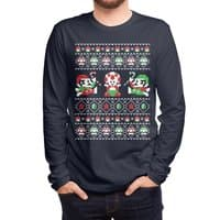 Super Christmas Bros - mens-long-sleeve-tee - small view