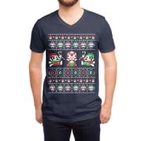 Super Christmas Bros - vneck - small view