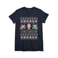Super Christmas Bros - womens-premium-tee - small view