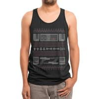 Old School - mens-triblend-tank - small view