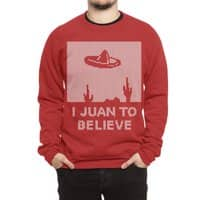I Juan To Believe: Holiday Sweater - crew-sweatshirt - small view