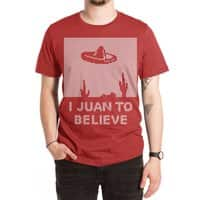 I Juan To Believe: Holiday Sweater - mens-extra-soft-tee - small view