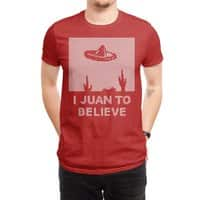 I Juan To Believe: Holiday Sweater - mens-regular-tee - small view