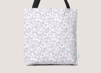 Cupcakes and kittens - tote-bag - small view